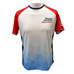 RAF Association t-shirt short sleeve track fitness athletic top RAFA