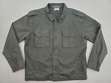 Apolis Global Citizen Utility Military Field Jacket Chore Coat Green Mens Large