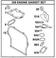 "Gasket SET 495603 397145 OEM 5hp Briggs and Stratton ""US Seller"" BS-495603"