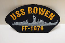2 USS Bowen FF-1079 Patch Navy Boat Ship Patches Naval US