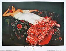 """Ignacio Zuloaga """"Rosita"""" from Biltmore Estate Lithograph Art Print"""