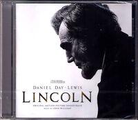 LINCOLN John Williams OST Soundtrack CD Steven Spielberg Chicago Symphony NEU