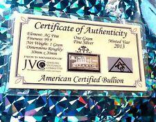 X20 Titanic + COA 999 Silver ACB 1 Gram Limited edition 100th Anniversary Bar $