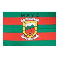 Mayo Flag 5 x 3 FT 100% Polyester With Eyelets All Ireland County Final 2016 IE