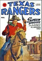 Texas Rangers 15 Issue Pulp Magazine Collection On USB Flash Drive