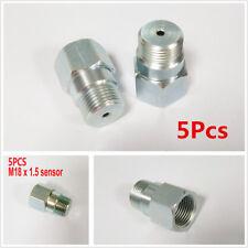 5Pcs O2 Oxygen Sensor Extension Extender Adapter Spacer M18X1.5 Thread Standard