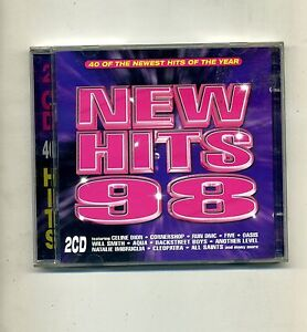 NEW HITS 98 # 40 o the newest of the years # 2 CD - 40 Hits # Anni '90 CD