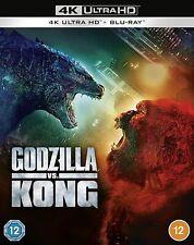 Godzilla Vs Kong 2021 4K Ultra HD High Definition UHD + Blu-ray (New Sealed 4K)