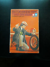 VINTAGE TAMIYA 1:12: MOTOR RACING TEAM MANAGER-Nuovo/Scatola Originale