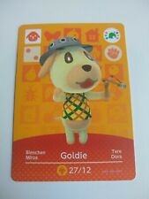 Goldie Animal Crossing Amiibo Card Nintendo Switch 3DS Wii U