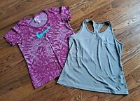 Nike Dri-fit Running Tennis Athletic Tank Tops Shirts Women's Size XL (Lot of 2)