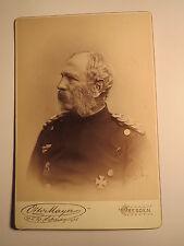 Dresden 1888/92 - König Albert von Sachsen in Uniform mit Orden / KAB