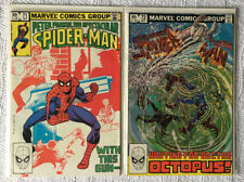 Spectacular Spider-Man #71 & 72 Fine Condition Bagged & Boarded Marvel Comics