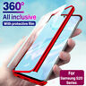 360° Full Cover For Samsung Galaxy S20 Ultra S20 Plus Slim Case+Screen Protector