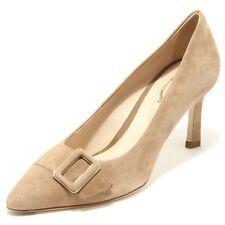 96505 decollete TOD'S  CUOIO T 75 SC FIBBIA PELLE scarpa donna shoes women