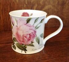 DUNOON BALMORAL CHINA MUG REDOUTE ROSES design cup ENGLISH BONE CHINA - NEW!