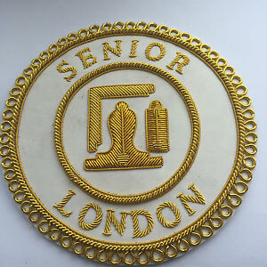 LONDON SENIOR RANK APRON BADGE
