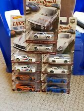 Hot Wheels Premium Car Culture Cars & Donuts Choice of 5 Casting Variations