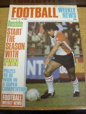 13/08/1980 Revista Noticias Semanales de fútbol: no 52 (escrito en la parte delantera). bobfrankande
