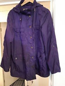 Principles Ben De Lisi Lightweight Jacket With Foldaway Hood Size 18