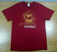 Minnesota Vikings Kids Large Tshirt Purple Nfl Football Short Sleeve *2u Unisex Clothing