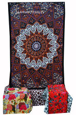 Indian Star Wall Hanging Twin Tapestries Bedspread Throw Ethnic Decor Art New