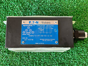 Eaton Vickers Systemstak DGMX2-5-PP-AW-RC-S-30 Pressure Reducing Valve 02-143718