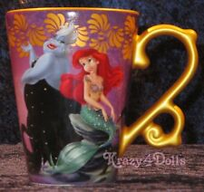 Disney Designer Fairytale Doll Heros VS Villains Ariel & Ursula Mug NEW