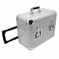 Zomo Flightcase Pour Disques en vinyle chariot TP-70 XT Argent - Neuf