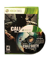 Call of Duty: Black Ops (Xbox 360, 2010) Complete W Disc, Case, Art, Manual