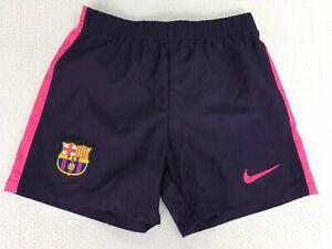 KIDS BARCELONA FC NIKE SHORTS AGE 4-5 YEARS 104-110CM BNWOT