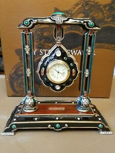 RARE Estate Jay Strongwater Harrison Hanging Pendant Clock