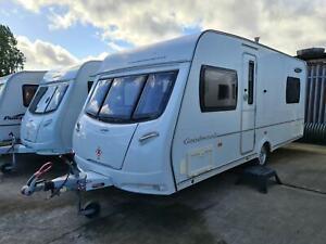 Quality Used 2011 Lunar Goodwood 544 - 4 Berth Single Axle Caravan