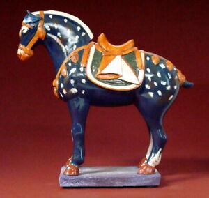 PFERD DER TANG-DYNASTIE III Skulptur Art Chinois Parastone Museion CH03 H17.00cm