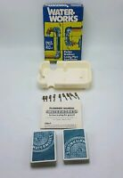 Vintage Card Game - WATER WORKS - PARKER BROTHERS - COMPLETE  1976