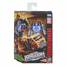 Transformers Huffer Kingdom Deluxe Generations War for Cybertron