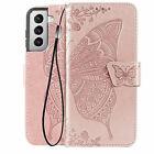 Women Leather Wallet Flip Case For Samsung S21 FE 5G S20 Ultra Plus Note20 S1098
