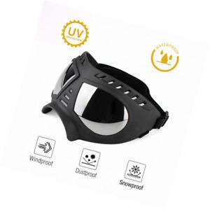 Namsan Hundebrille UV Wasserdicht Winddicht Einstellbar Hunde Sonnenbrille Mode
