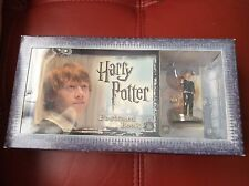 Harry Potter Postcard Book with Limited Edition Ron Weasley Figure