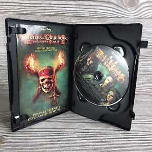 Pirates of the Caribbean: Dead Mans Chest (DVD, 2006, 2-Disc Set, Widescreen
