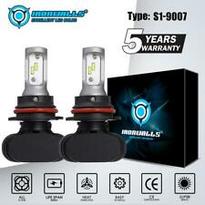 2PCS 9007 HB5 LED Headlight Kits High Low Dual Beam Bulbs 2100W 315000LM 6000K