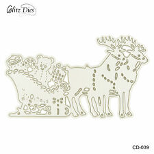 Christmas Deers Cutting Dies for DIY Scrapbooking Decor Card Marking Supplies