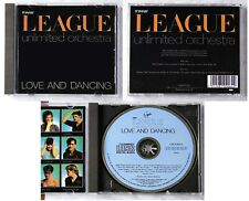 HUMAN LEAGUE UNLIMITED ORCHESTRA Love And Dancing .. LightBlue Virgin CD