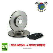 Kit dischi freno + Pastiglie Ant ecp-s FIAT 500L