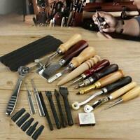18x Multifunktions-Bastelwerkzeug für Leder Nähen Nähen DIY Workhand Tool