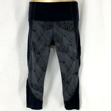 ATHLETA WOMENS COLORBLOCK REVELATION TIGHT WORK OUT GYM PANTS $74.00 S M XL