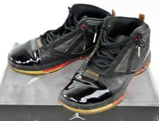 136059-061 Nike Air Jordan XVI Black Patent Leather Basketball Shoes in Box