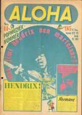 ALOHA 1972 11 JIMI HENDRIX The Kinks AJAX The BAND Ike Tina Turner KING KONG