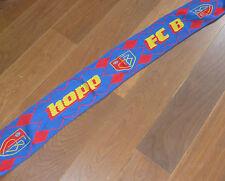 FCB ECHARPE de FOOT FC BASEL hopp SWISS schweiz FOOTBALL switzerland TEAM equipe