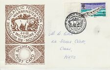 Wiltshire Federation 8th meeting at Warminster Special Handstamp on card